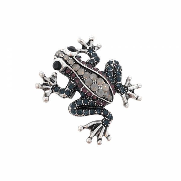Froggy Brosche
