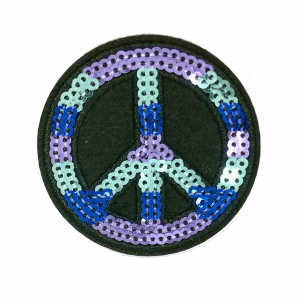 peace shiny sticker