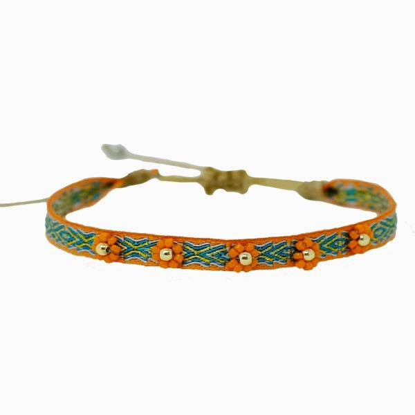 Jade Flower Armband