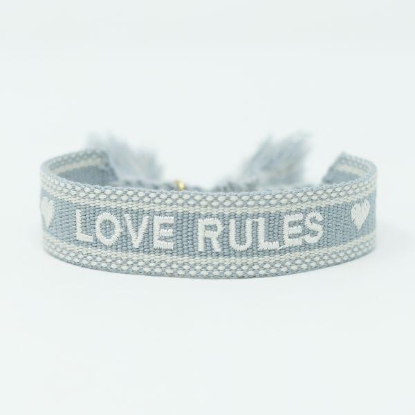 love rules armband ttm