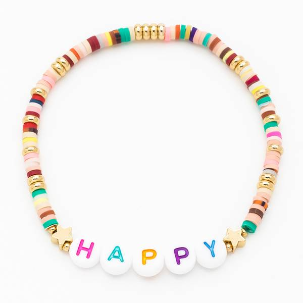 Armband be happy