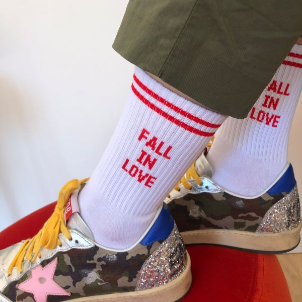 h - Fall in love socks