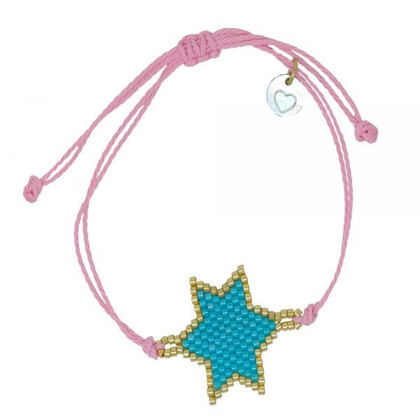 little blue star armband