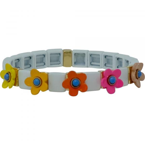 Lilly weiß Armband