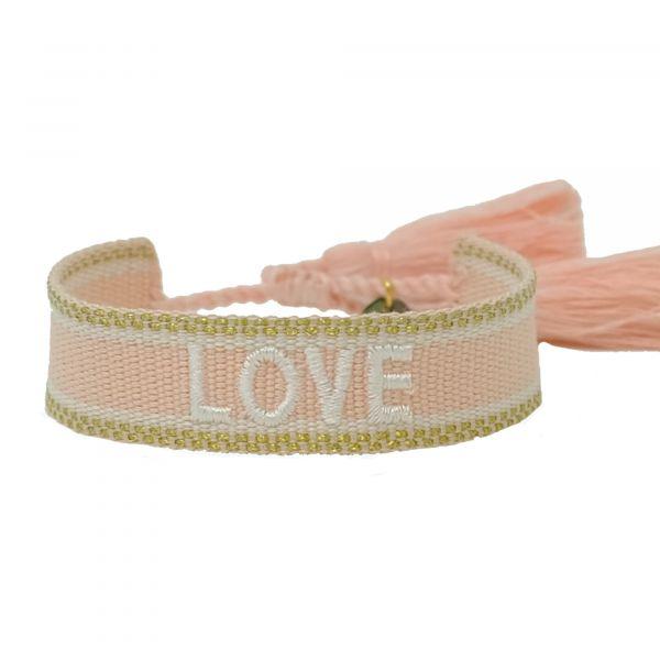 love rose gold Armband ttm