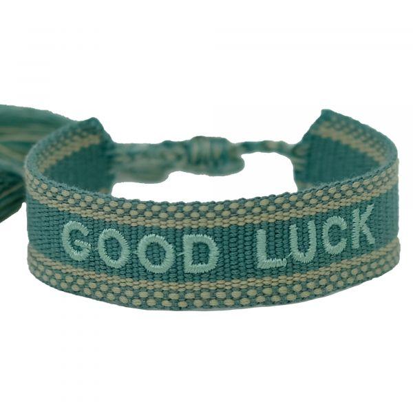 good luck grün armband ttm