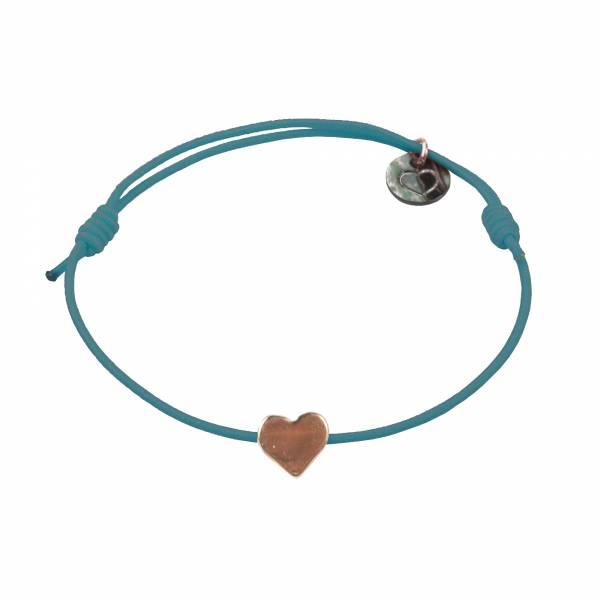 Mini Heart rose armband
