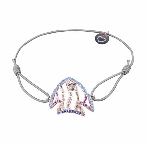fish armband rose