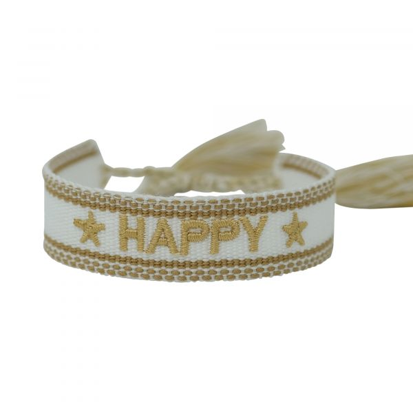 happy gold armband ttm