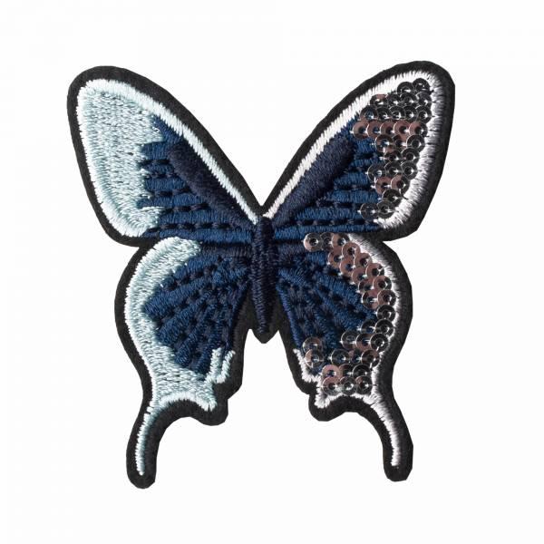 Butterfly shiny sticker